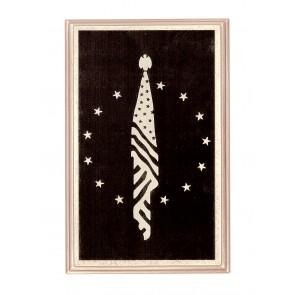 4 METAL CORNERS ENGRAVED US VETERAN FLAG