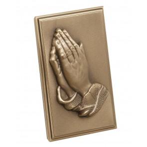 4 PRAYINGS HANDS METAL CORNER/CC